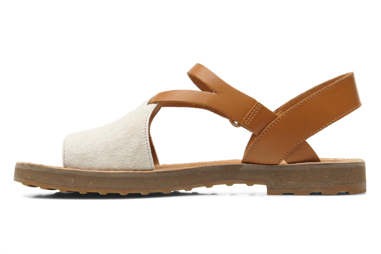 Sandales et nu-pieds Camper PimPom 22519 Marron vue face
