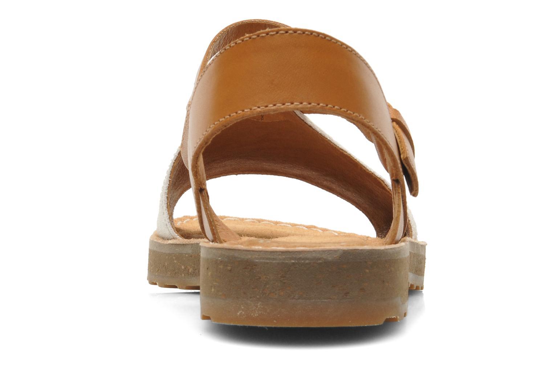 Sandales et nu-pieds Camper PimPom 22519 Marron vue droite