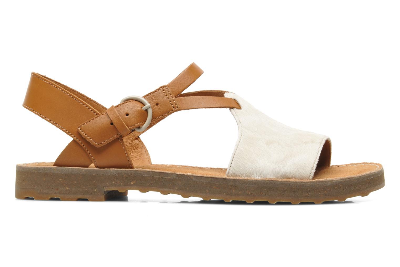 Sandales et nu-pieds Camper PimPom 22519 Marron vue derrière