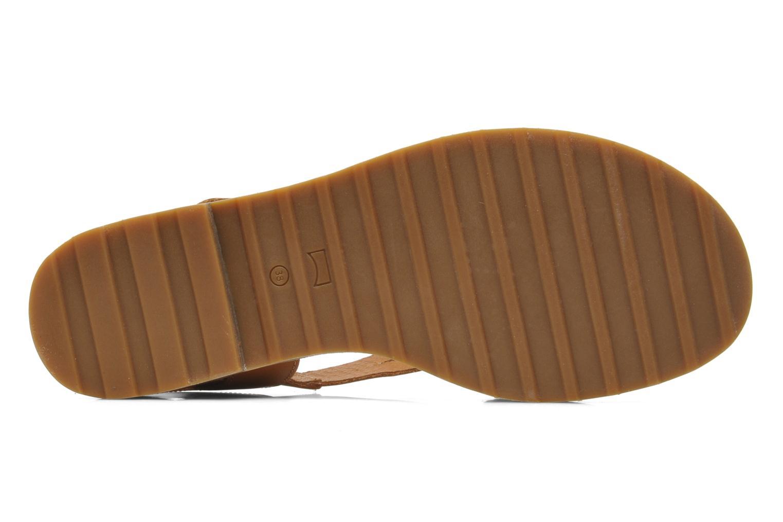Sandales et nu-pieds Camper PimPom 22519 Marron vue haut