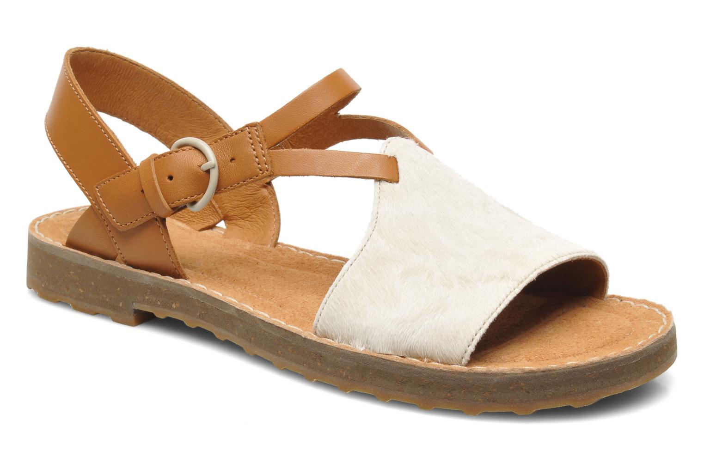 Sandales et nu-pieds Camper PimPom 22519 Marron vue détail/paire