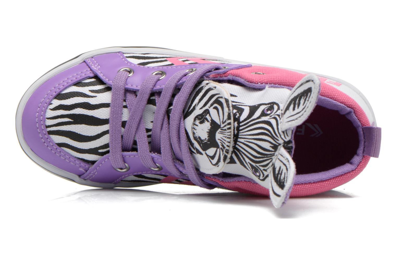 Delta Mid Animal White Black Pink purple