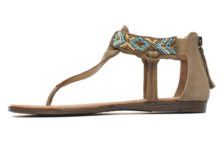 Sandales et nu-pieds Minnetonka Antigua Marron vue face