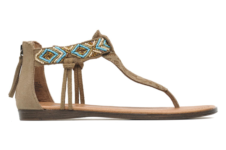 Sandales et nu-pieds Minnetonka Antigua Marron vue derrière