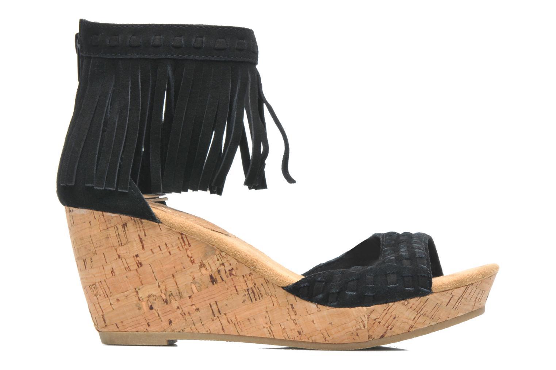 Sandales et nu-pieds Minnetonka Isabel Noir vue derrière