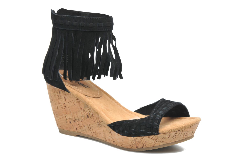 Sandales et nu-pieds Minnetonka Isabel Noir vue détail/paire