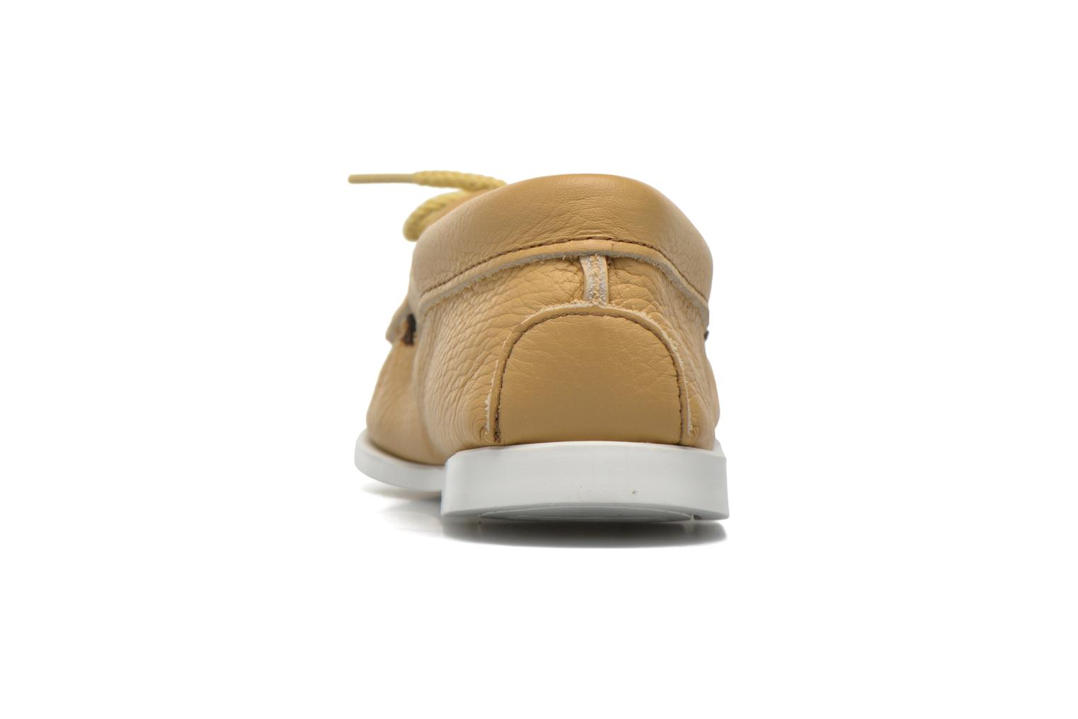 Loafers Minnetonka Original Thunderbird Beige view from the right