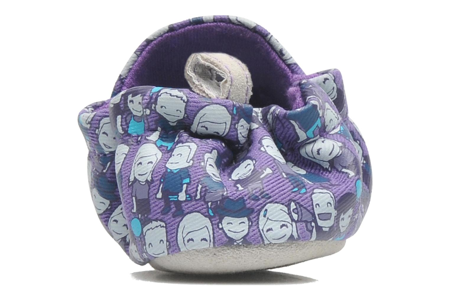 Slippers Poco Nido PEOPLE Purple view from the right