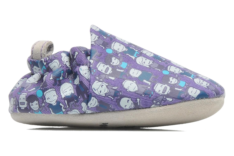 Pantofole Poco Nido PEOPLE Viola immagine posteriore