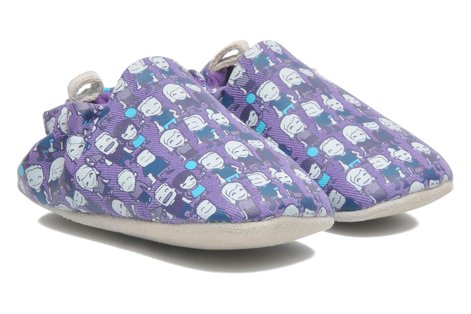 Slippers Poco Nido PEOPLE Purple detailed view/ Pair view