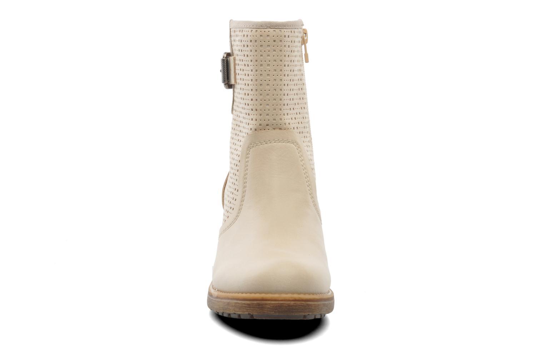Ankle boots Esprit Saki Bootie 018 Beige model view