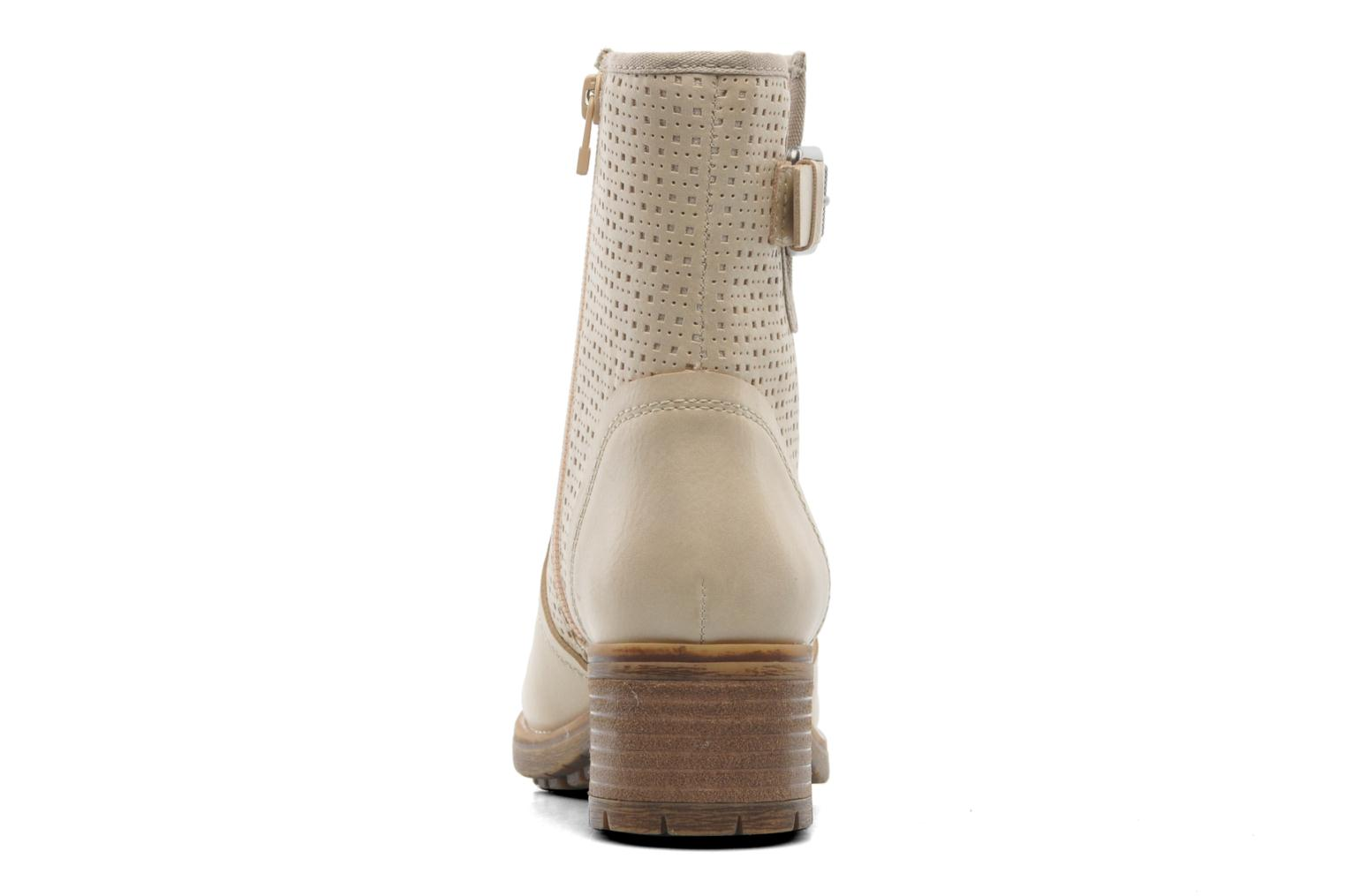 Ankle boots Esprit Saki Bootie 018 Beige view from the right