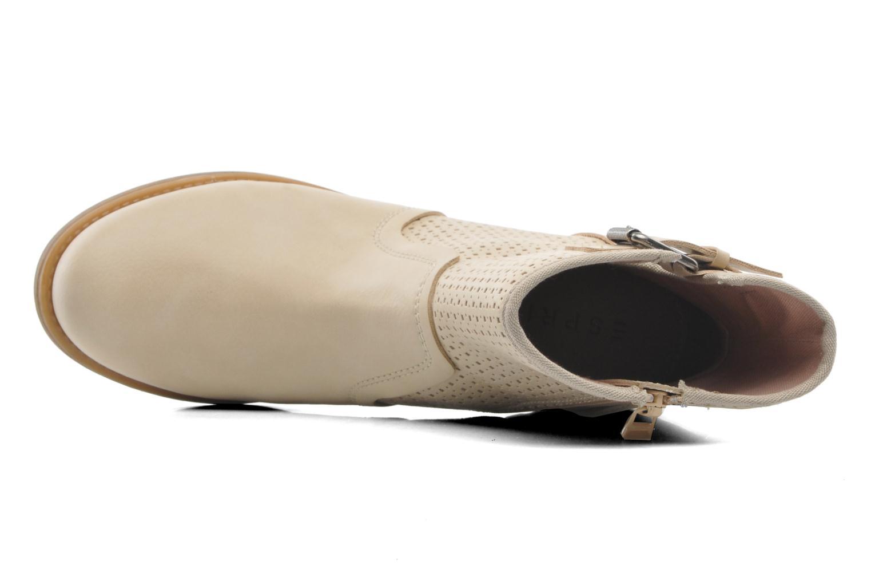 Bottines et boots Esprit Saki Bootie 018 Beige vue gauche