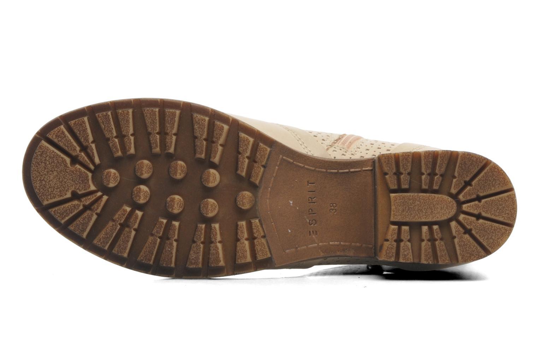 Bottines et boots Esprit Saki Bootie 018 Beige vue haut