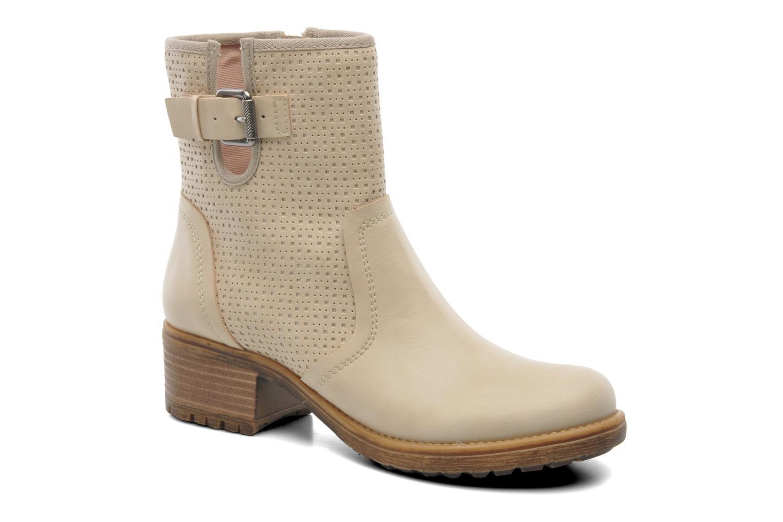 Bottines et boots Esprit Saki Bootie 018 Beige vue détail/paire