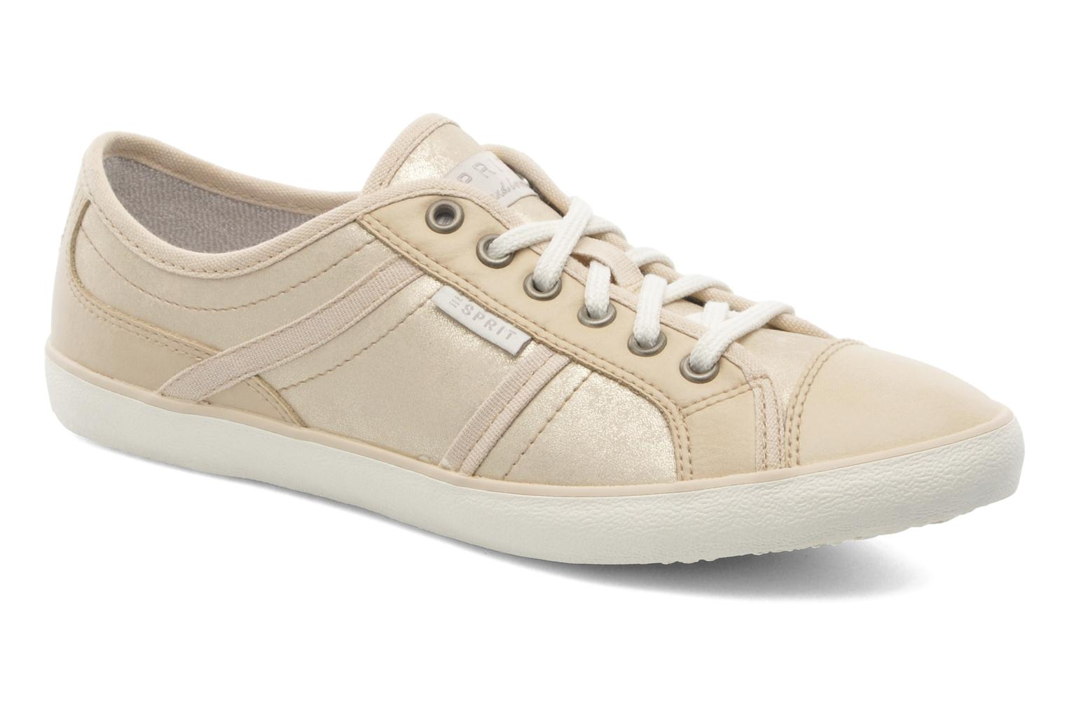 Trainers Esprit Megina Lace Up 023 Bronze and Gold detailed view/ Pair view