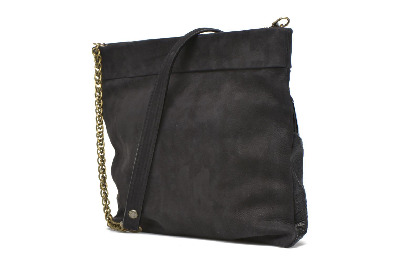Handtaschen Mohekann Cassidy schwarz ansicht von rechts