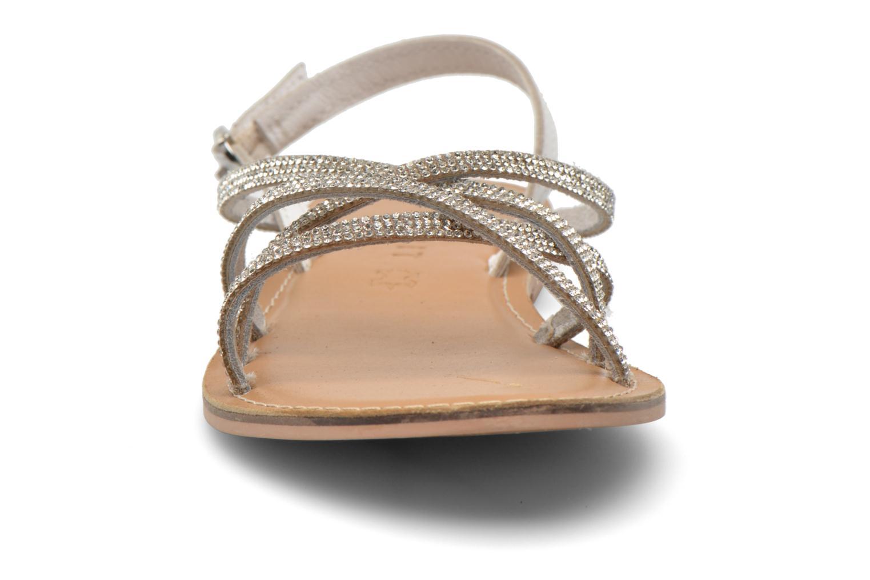 Sandalen Esprit Sun CC Sandal 014 weiß schuhe getragen