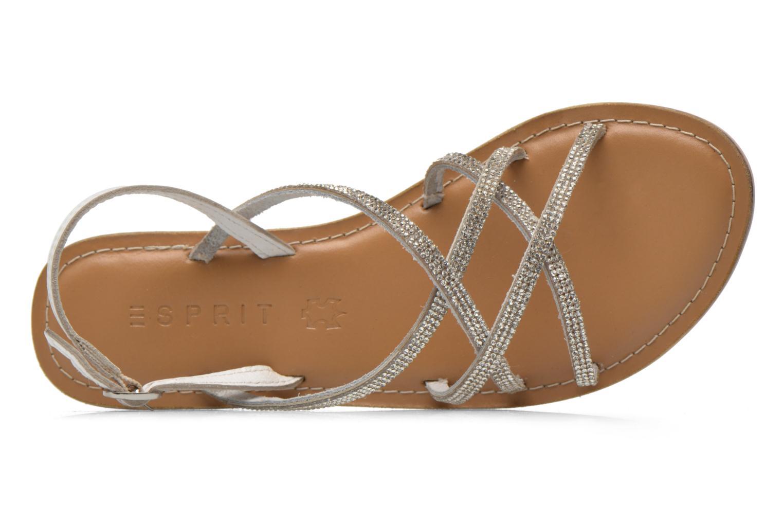 Sandalen Esprit Sun CC Sandal 014 weiß ansicht von links