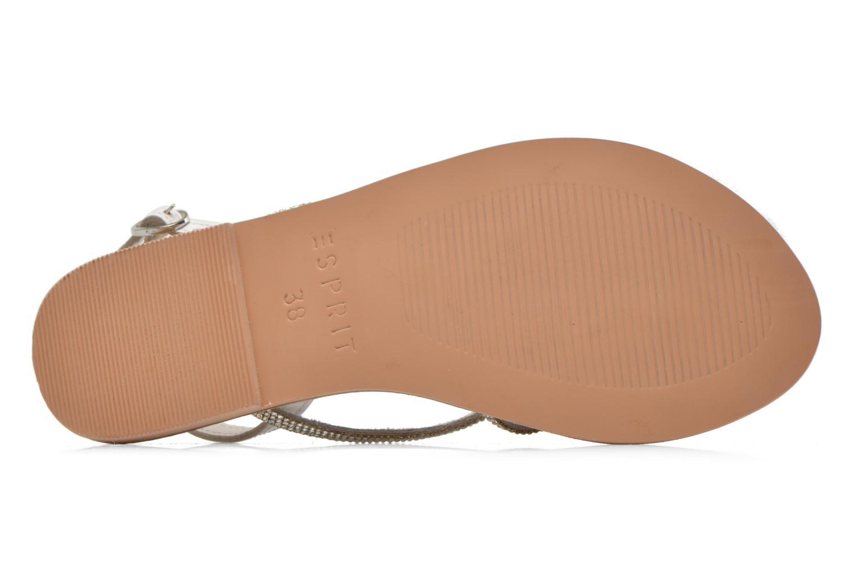 Sandalen Esprit Sun CC Sandal 014 weiß ansicht von oben