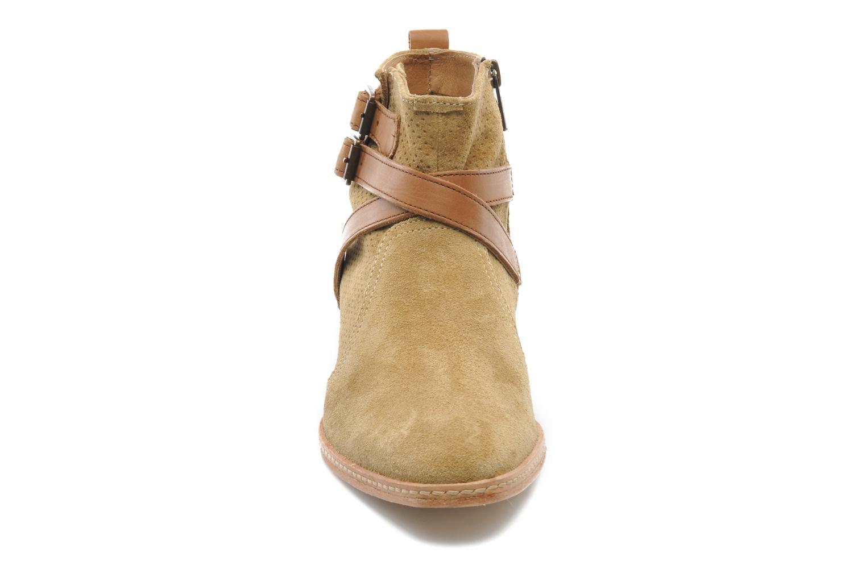 Bottines et boots H By Hudson Tab Beige vue portées chaussures