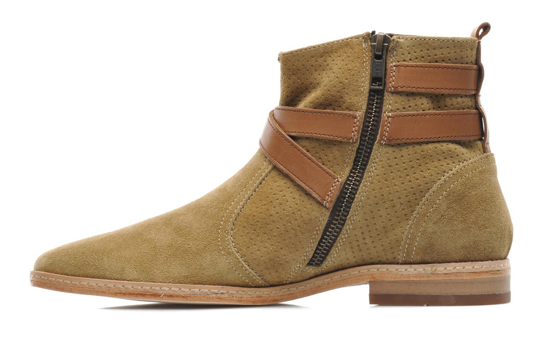 Bottines et boots H By Hudson Tab Beige vue face