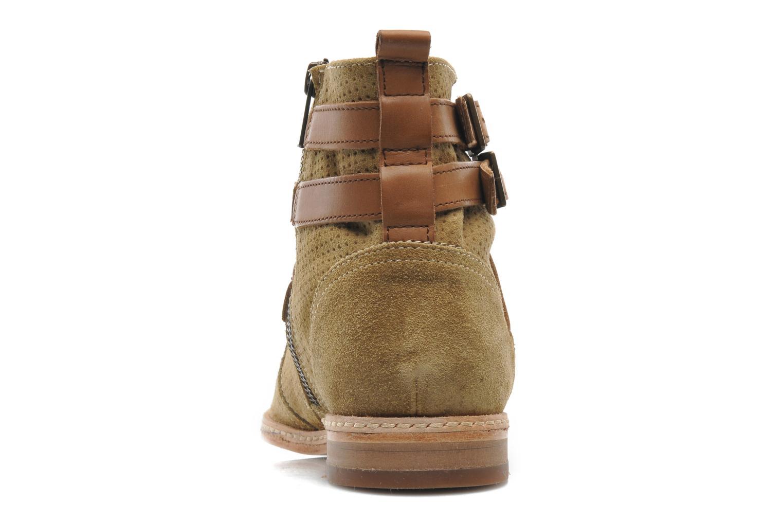 Bottines et boots H By Hudson Tab Beige vue droite