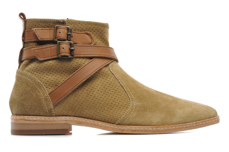 Bottines et boots H By Hudson Tab Beige vue derrière