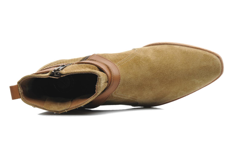 Bottines et boots H By Hudson Tab Beige vue gauche