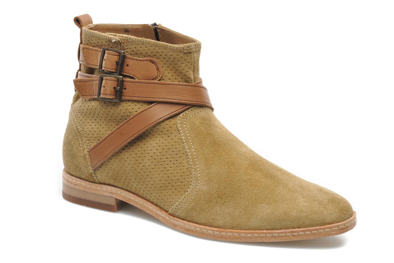 Bottines et boots H By Hudson Tab Beige vue détail/paire
