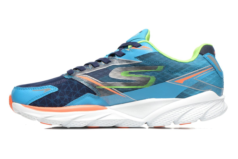 Chaussures de sport Skechers Go Run Ride 4 53998 Bleu vue face