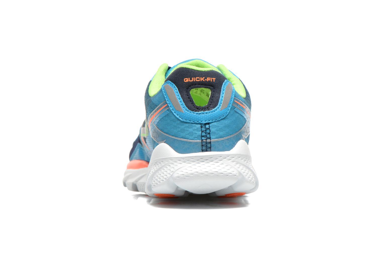 Chaussures de sport Skechers Go Run Ride 4 53998 Bleu vue droite