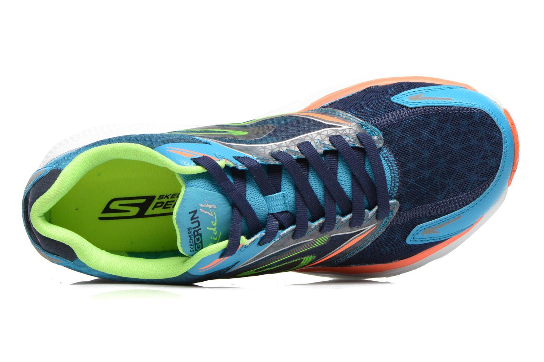 Chaussures de sport Skechers Go Run Ride 4 53998 Bleu vue gauche
