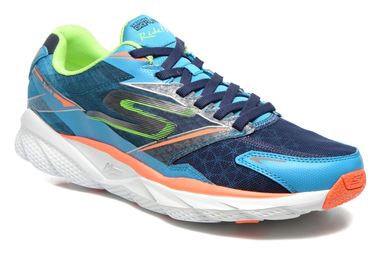 Chaussures de sport Skechers Go Run Ride 4 53998 Bleu vue détail/paire