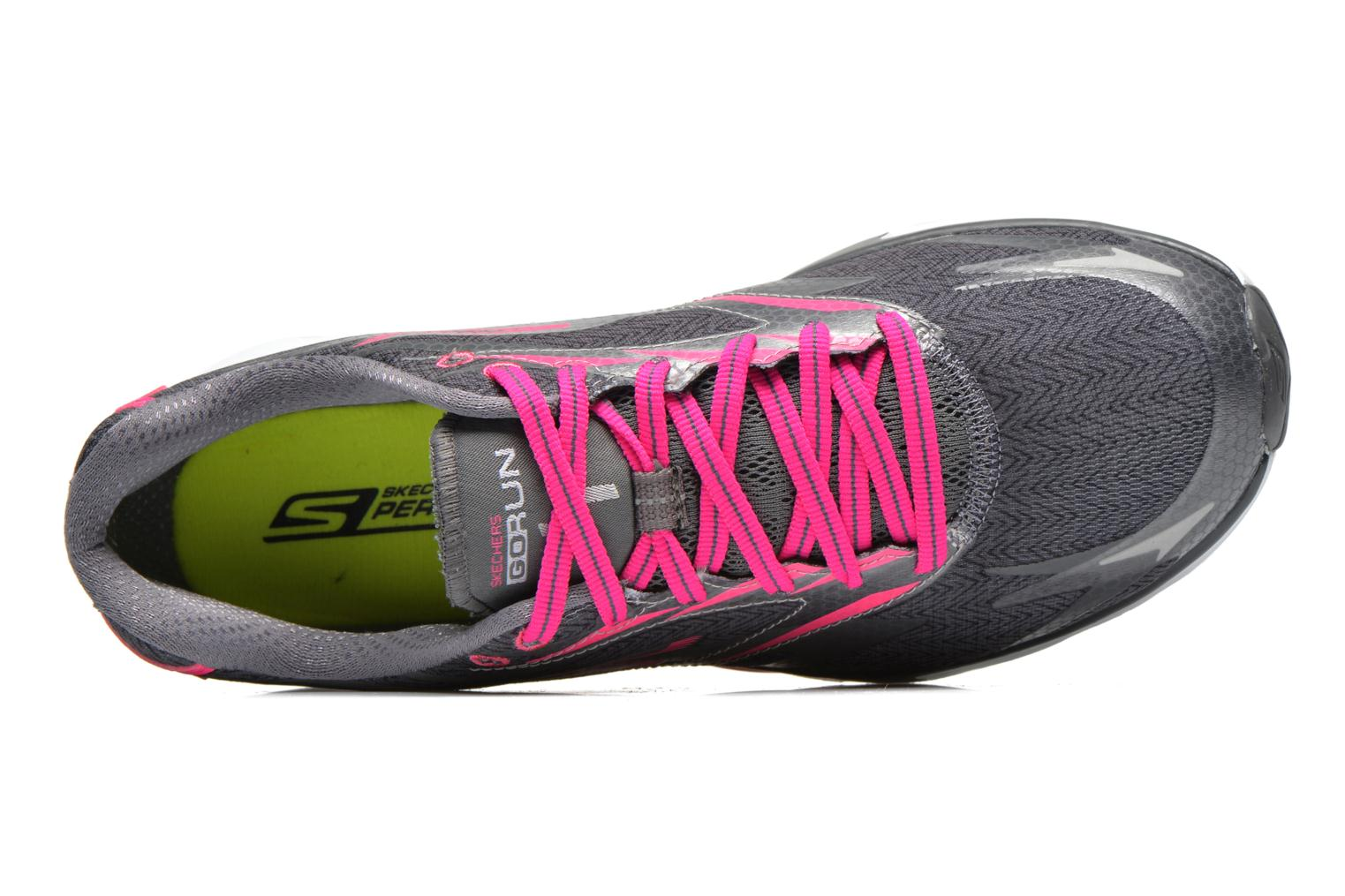 Go Run 4 13995 Charcoal hot pink