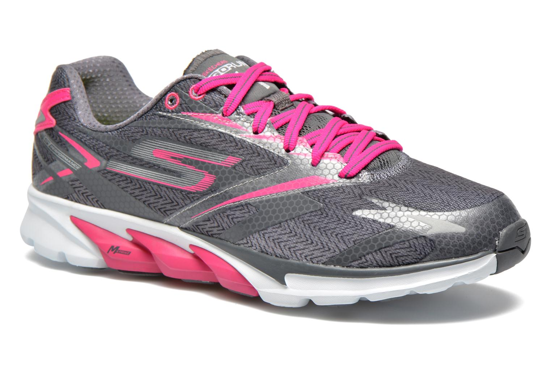 Go Run 4 13995 Charcoal hot pink