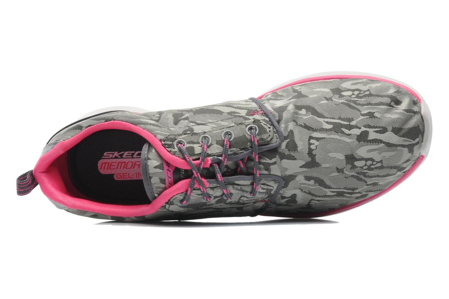 Counterpart Front Line 12080 Charcoal hot pink