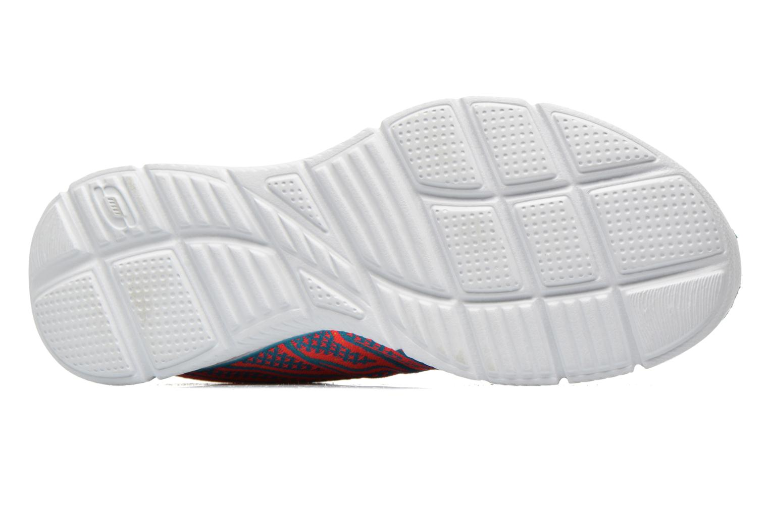 Baskets Skechers Equalizer Above All 12029 Multicolore vue haut