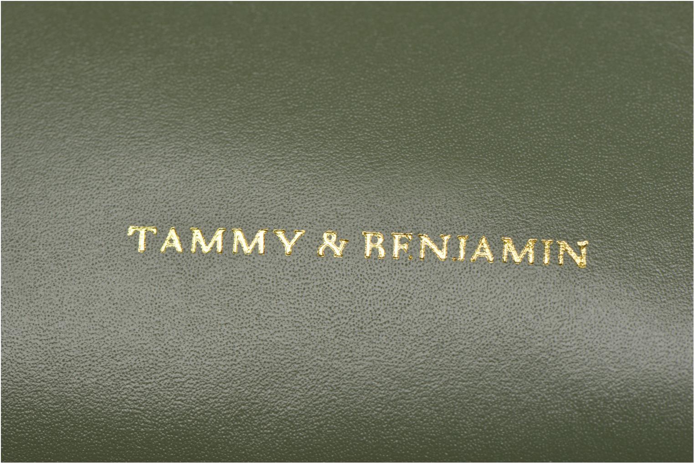 Sacs à main Tammy & Benjamin Emma Vert vue gauche