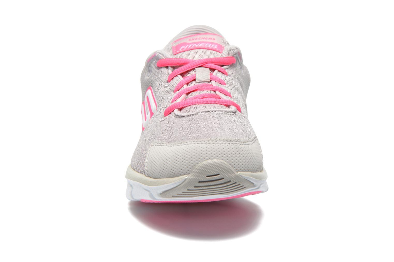 Liv 99999830 Light grey hot pink