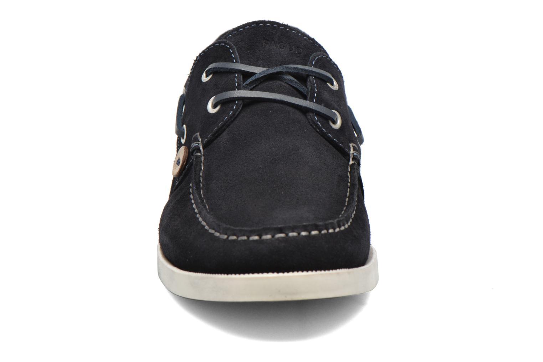 Chaussures à lacets Faguo Larch Bleu vue portées chaussures