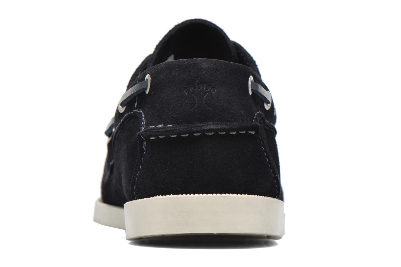 Chaussures à lacets Faguo Larch Bleu vue droite