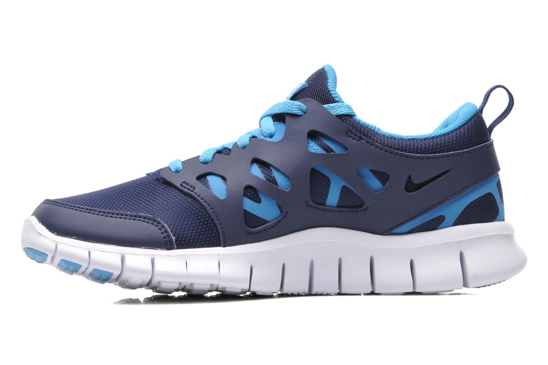 Sneakers Nike NIKE FREE RUN 2 (GS) Blauw voorkant