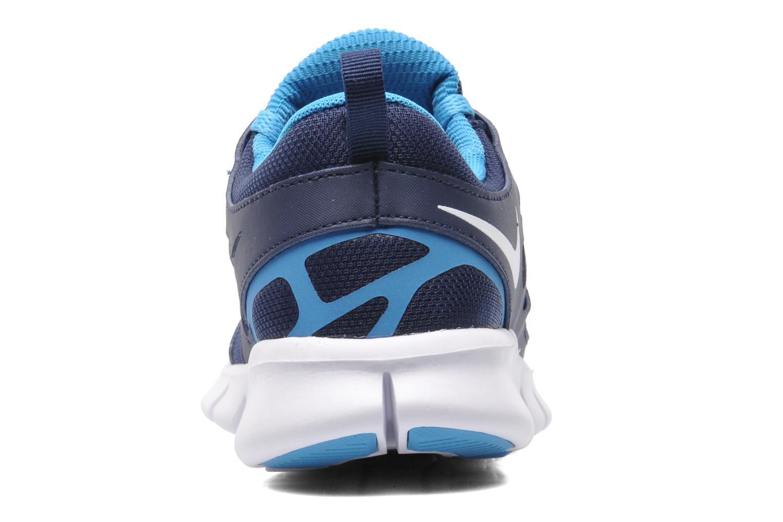 Sneakers Nike NIKE FREE RUN 2 (GS) Blauw rechts
