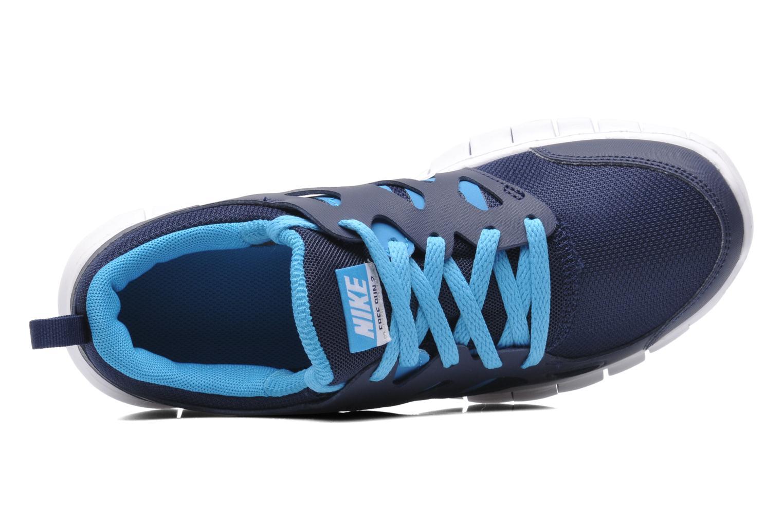 Sneakers Nike NIKE FREE RUN 2 (GS) Blauw links