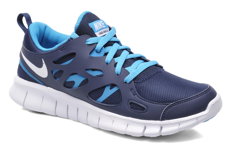 Sneakers Nike NIKE FREE RUN 2 (GS) Blauw detail