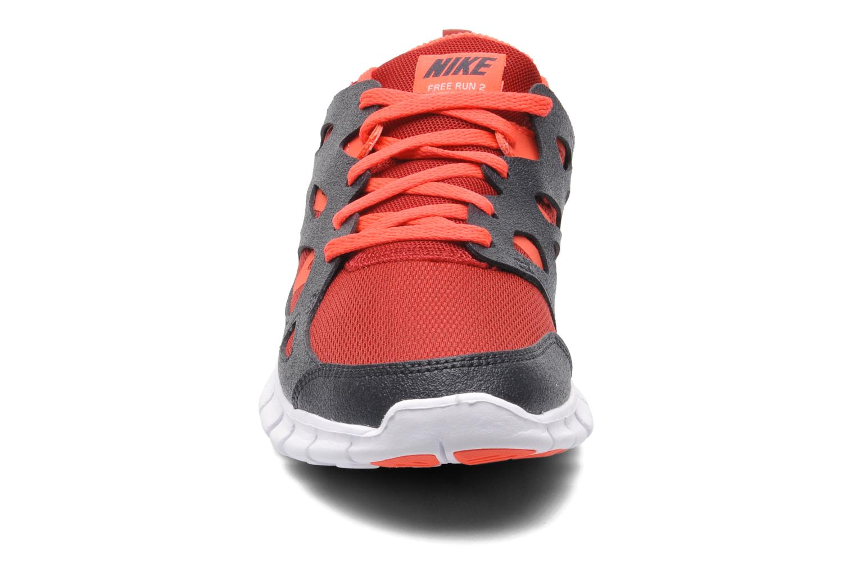 Baskets Nike NIKE FREE RUN 2 (GS) Multicolore vue portées chaussures