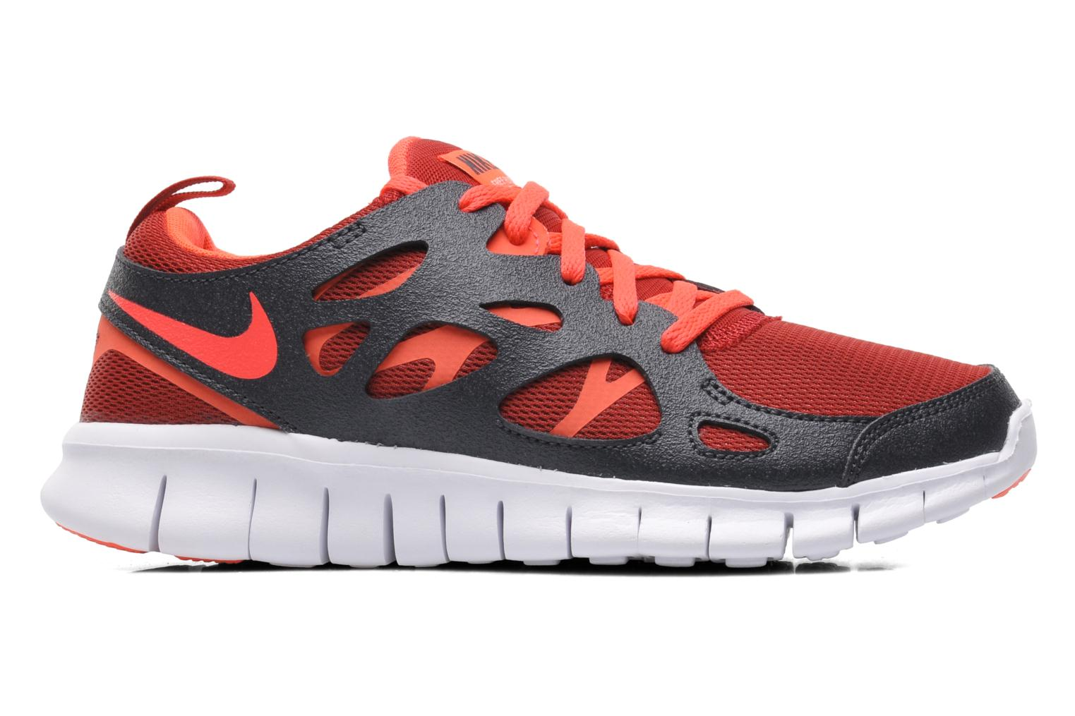 Trainers Nike NIKE FREE RUN 2 (GS) Multicolor back view