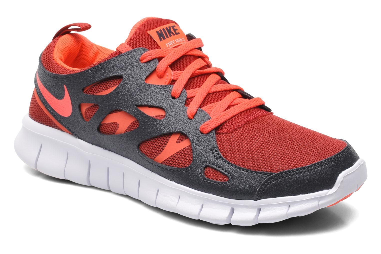 Baskets Nike NIKE FREE RUN 2 (GS) Multicolore vue détail/paire