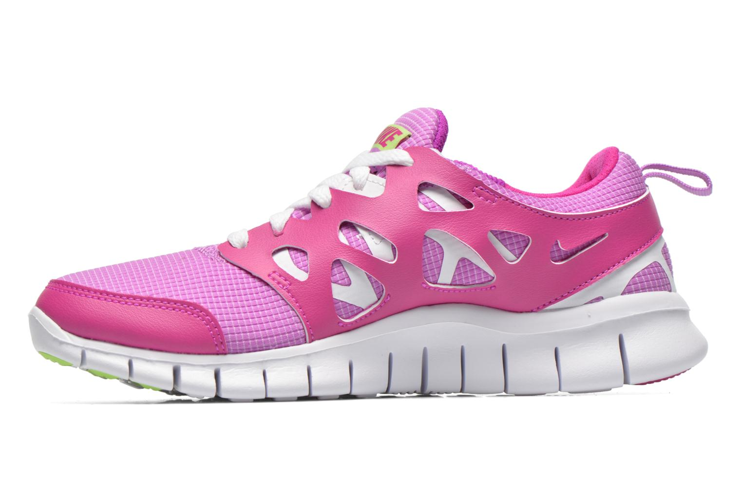 Baskets Nike NIKE FREE RUN 2 (GS) Violet vue face